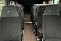 Wnętrze busów Mercedes Sprinter 907 2019r